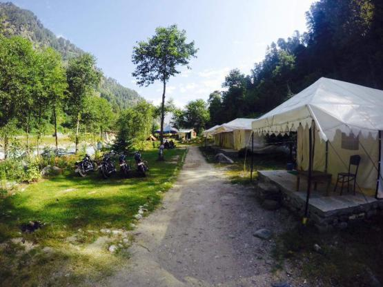 Manali Adventure Camping Trip with Trekking And Rafting image